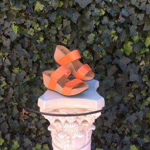 "Eric Michael ""Lily"" Orange Sandal"