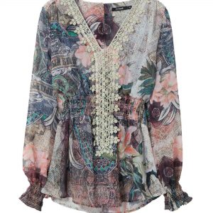 Desigual 'Modern Lovers' Blouse