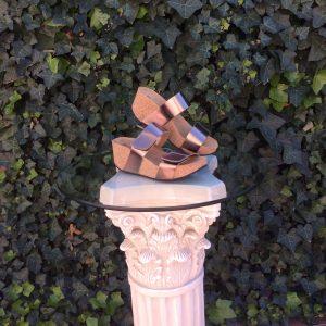 "Eric Michael ""Lily"" Bronze Sandal"